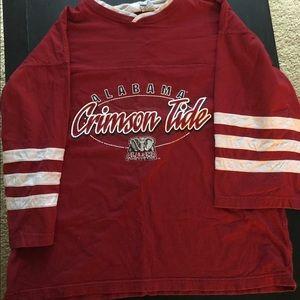 Pro edge Alabama Crimson tide vintage shirt